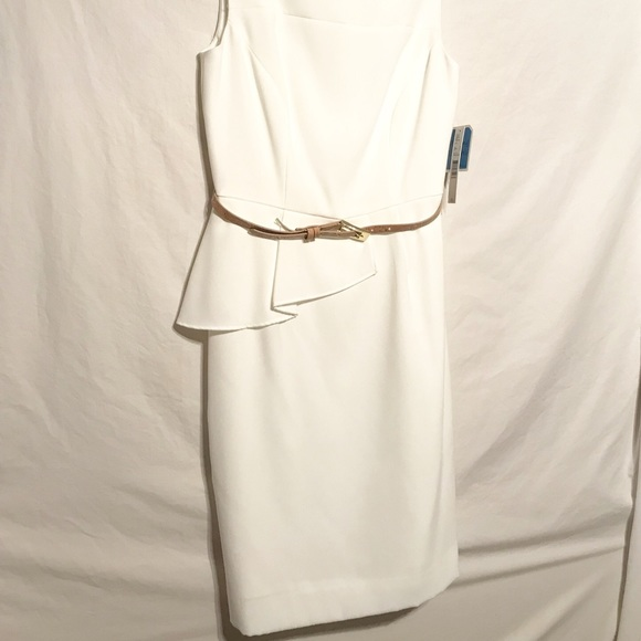 e0985163f7d Antonio Melani Ivory Dress Size 4